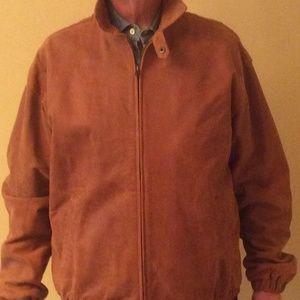 Polo Ralph Lauren Nubuck Suede Jacket Large